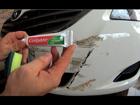 How To Remove Scratches From The Car At Home Using