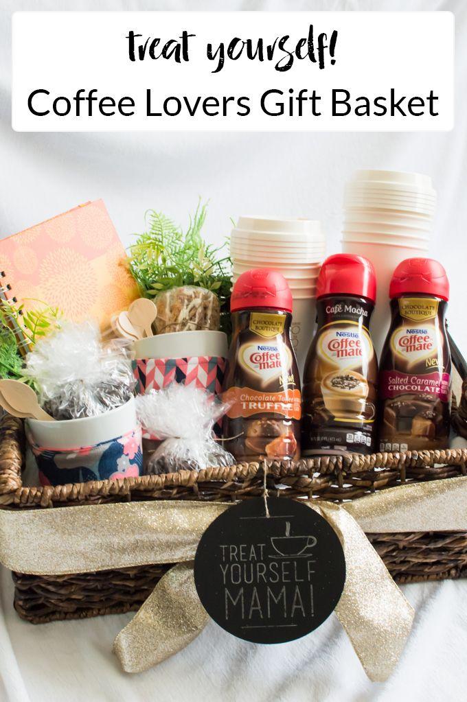 Treat Yourself Mama! A Coffee Lovers Gift Basket Coffee