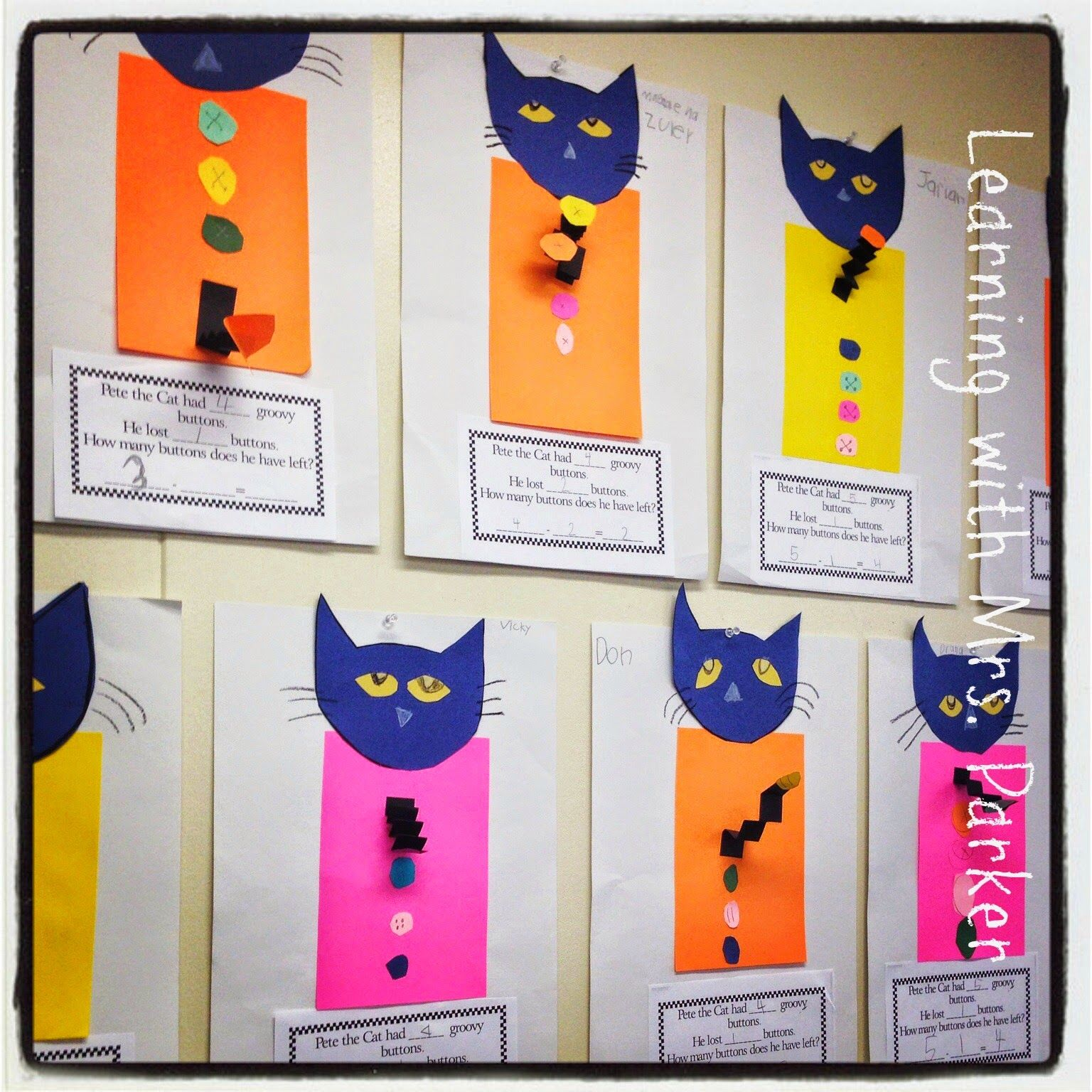 Children Make Their Own Pete The Cat And Create Their Own
