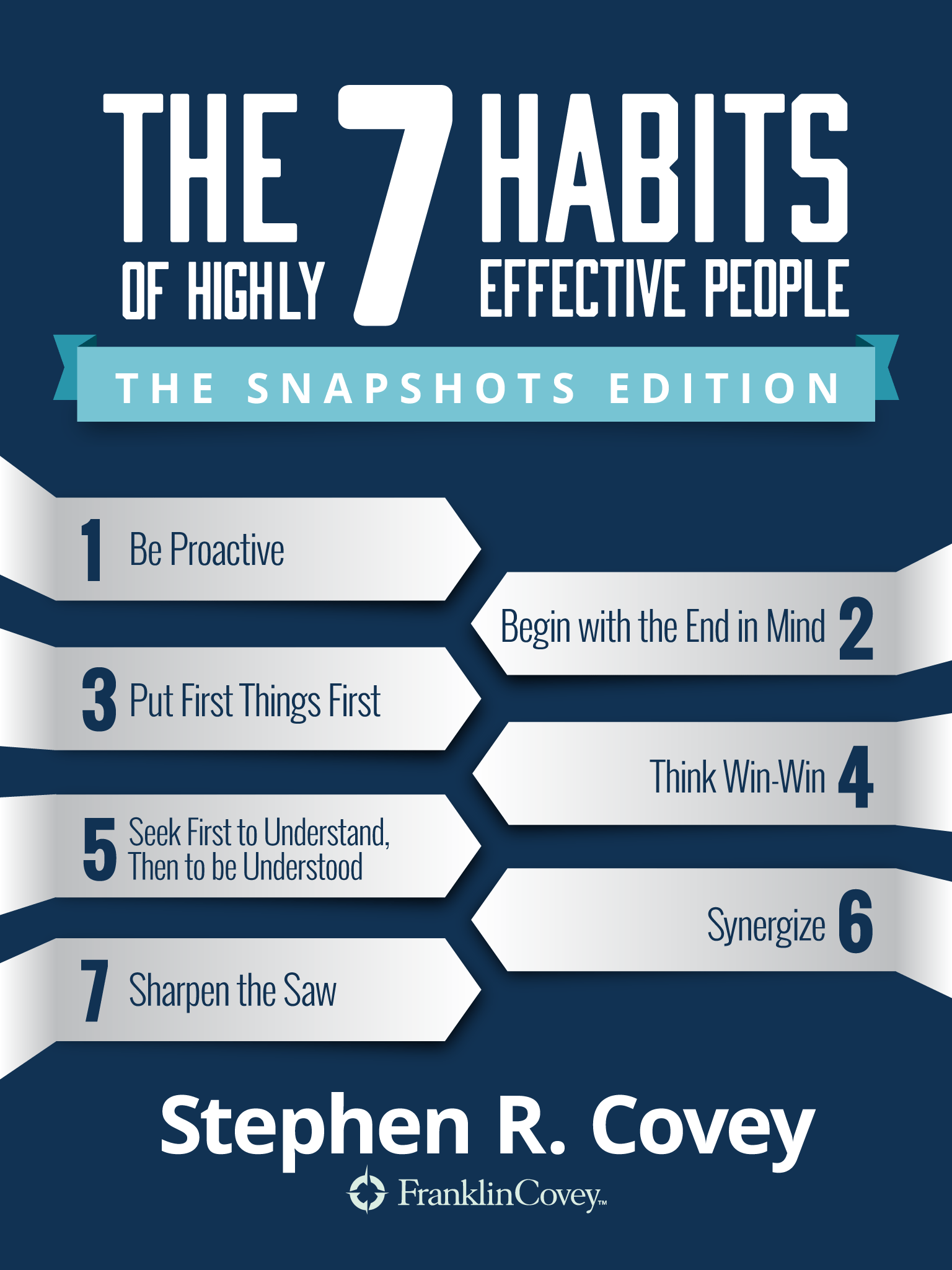 The 7 Habits Of Highly Effective People The Snapshots Edition Franklincovey Ebook 7habits