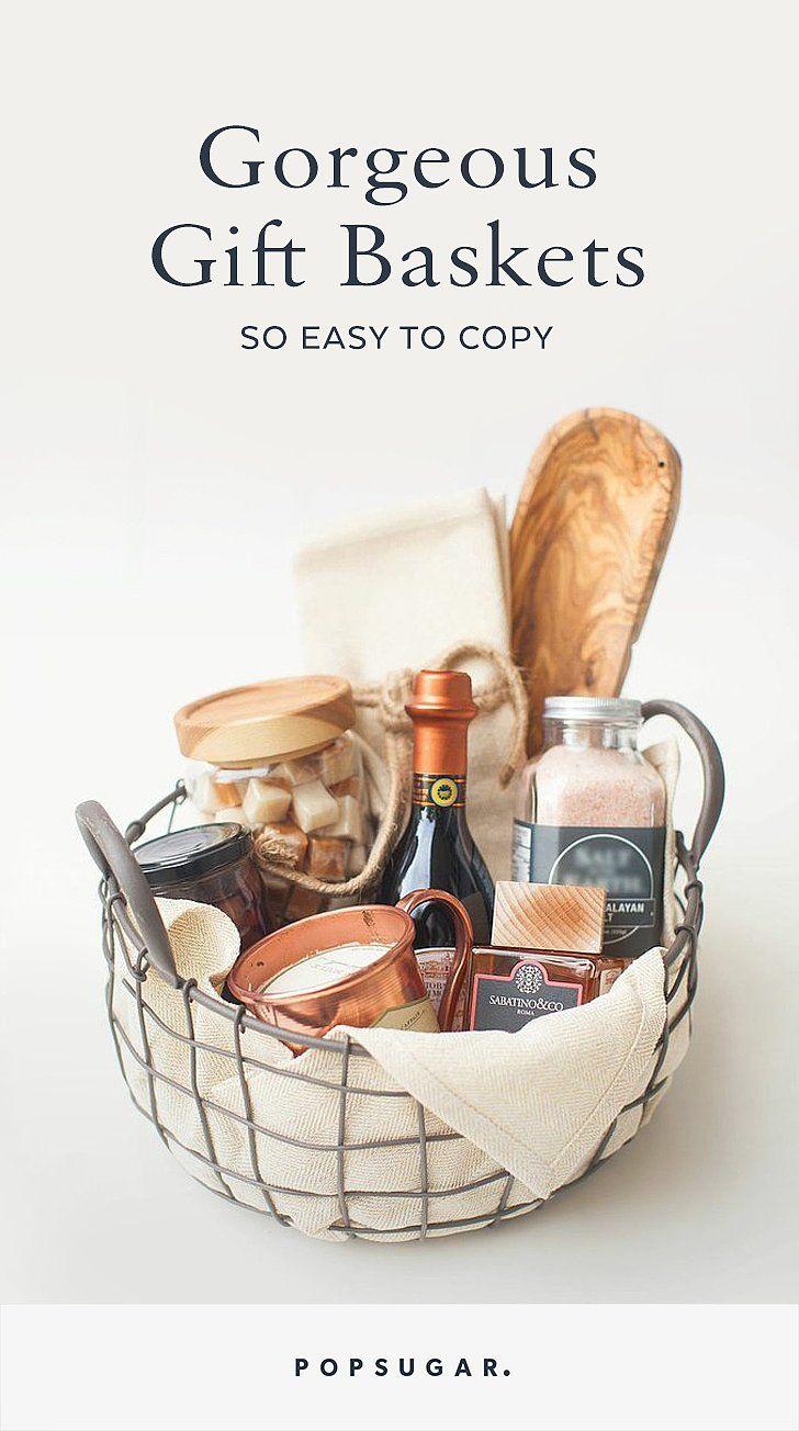 Gift Baskets So Easy to Copy via stylemepretty