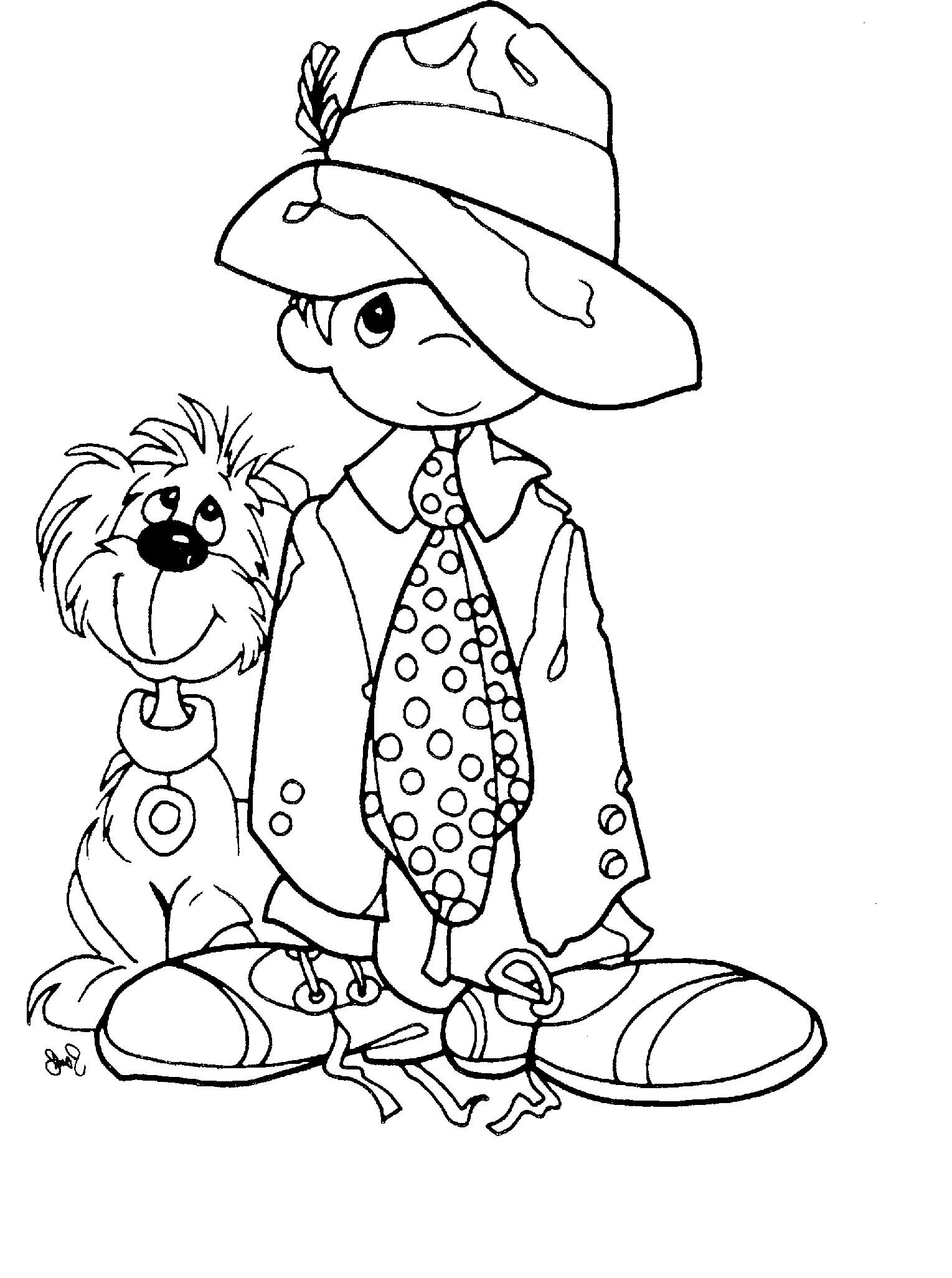 Precious Coloring Pages