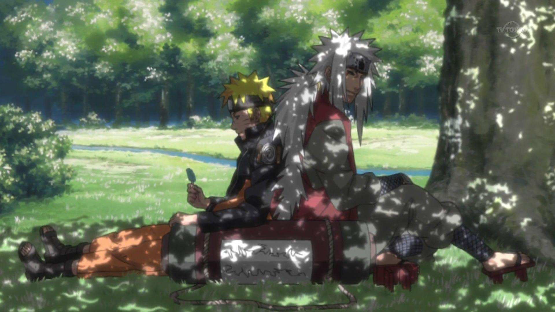 Jiraiya_and_Naruto_by_Mikuzu.jpg (1920×1080) Naruto