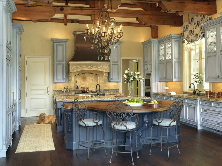 Small French Country Kitchens 2011 NKBA KITCHEN DESIGNS