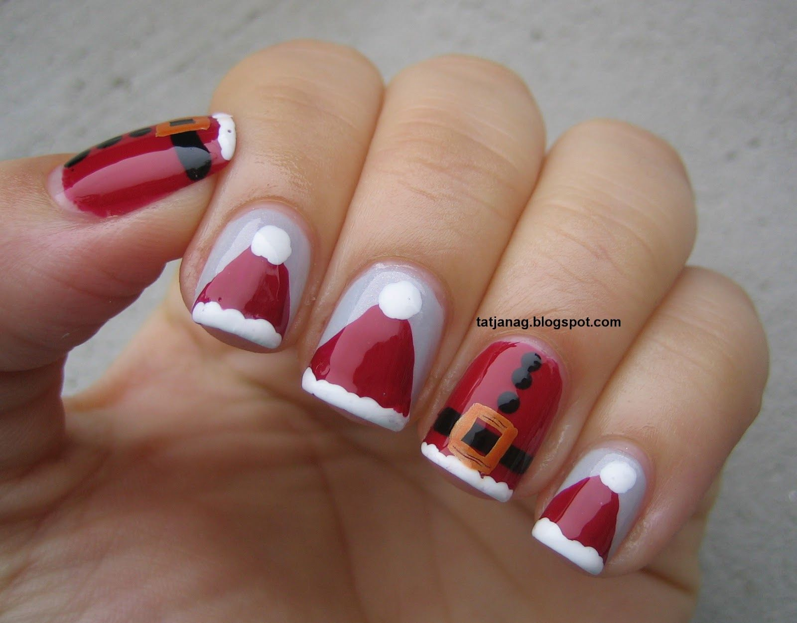 Easy Christmas Nail Design Best Nail 2017 Nails