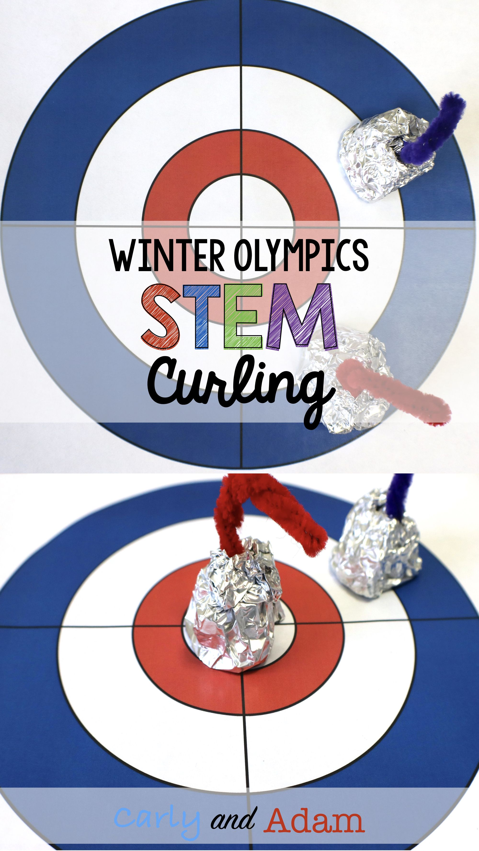 Winter Games Stem Activity Curling