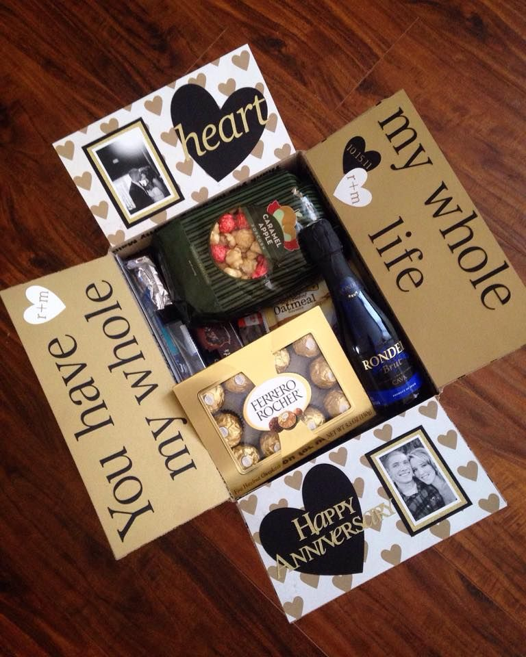 Anniversary Care Package … Pinteres…