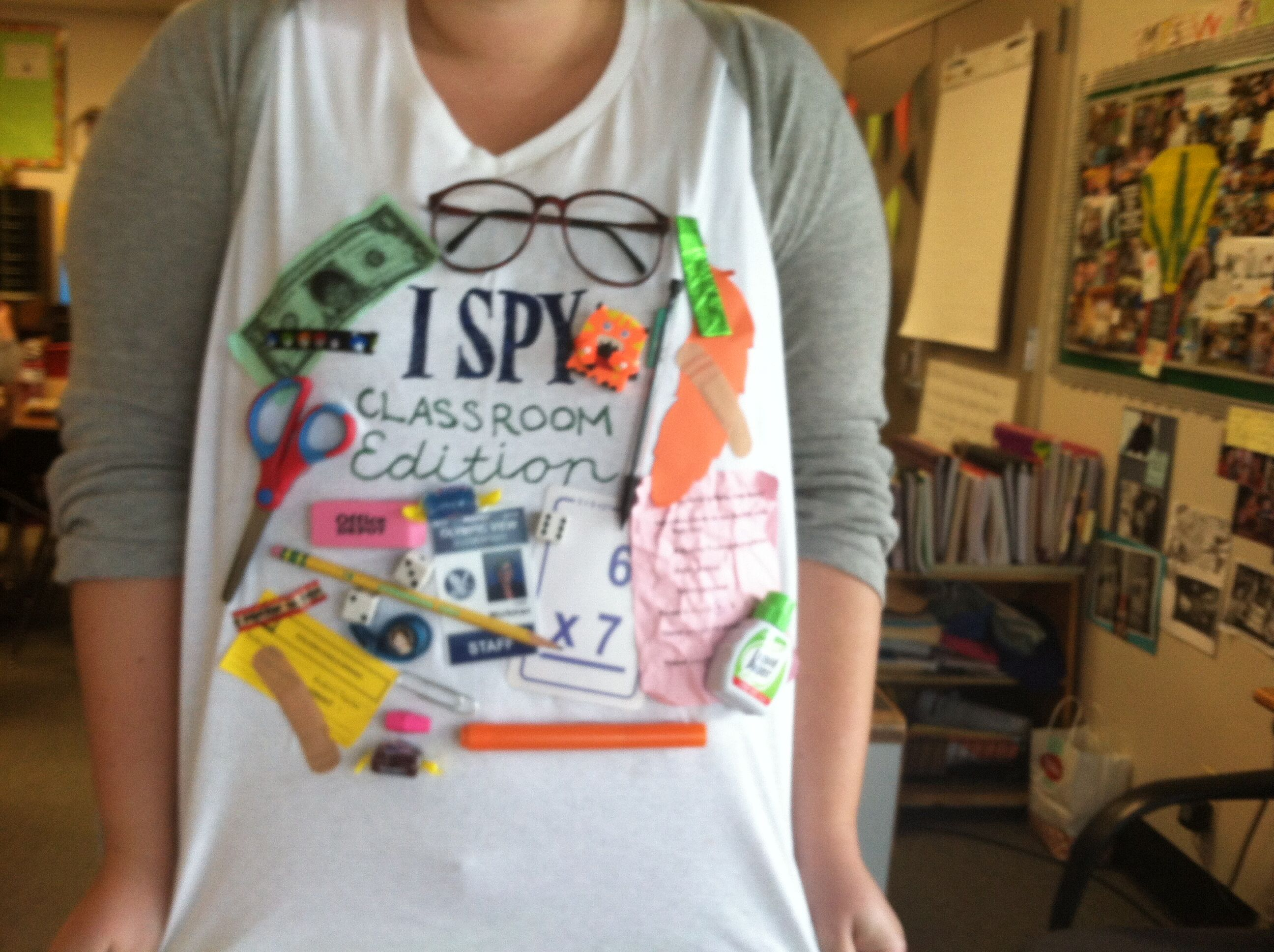 I Spy Classroom Edition Tshirt