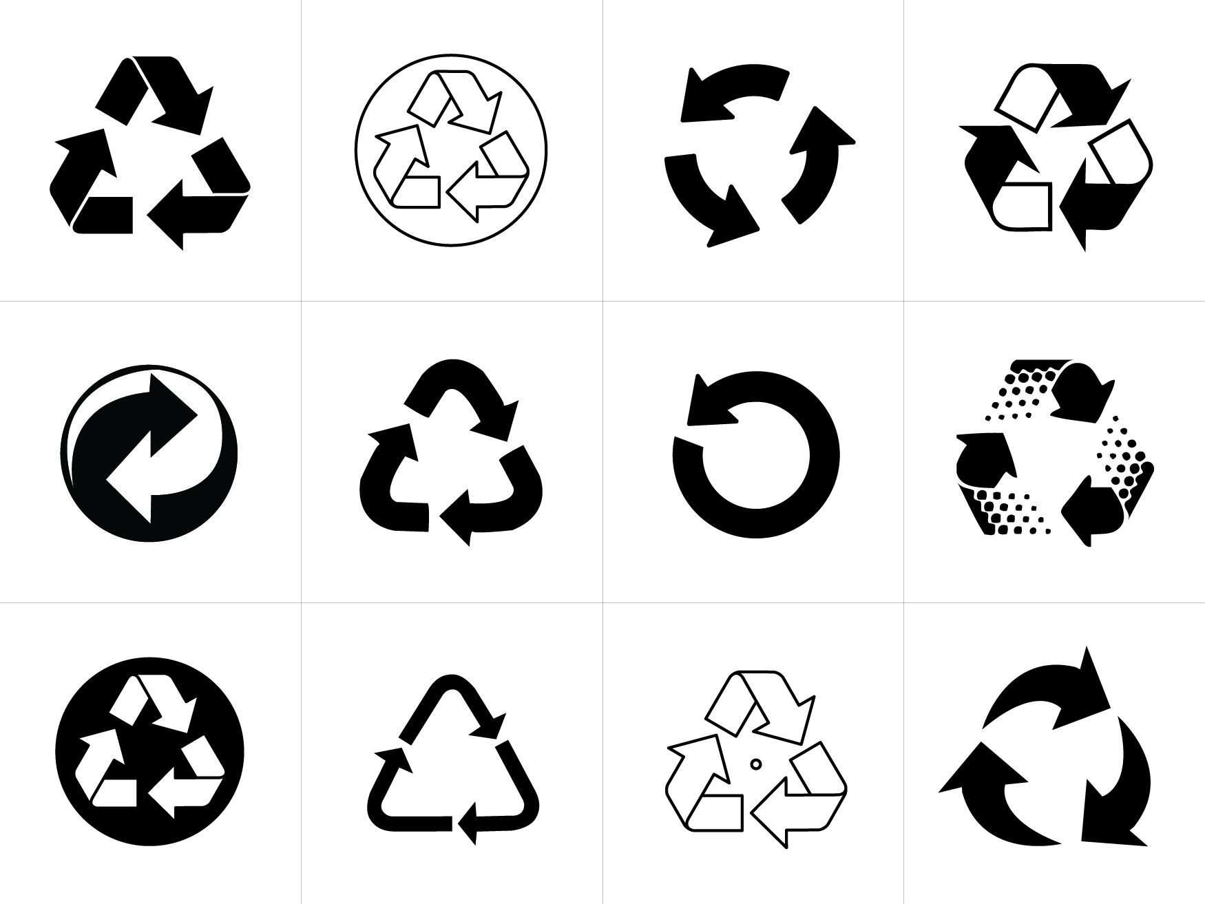 Recycling Symbol Vectors for Download Logo google, Logos