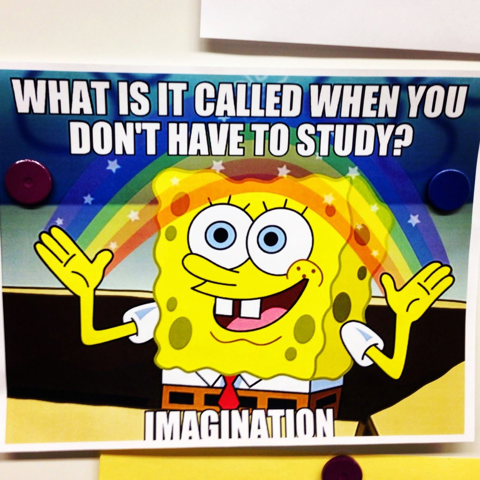 What is it called when you don't have to study