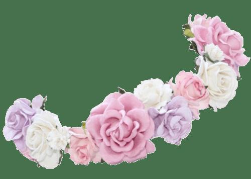 transparent flower crown Google zoeken Random thingies