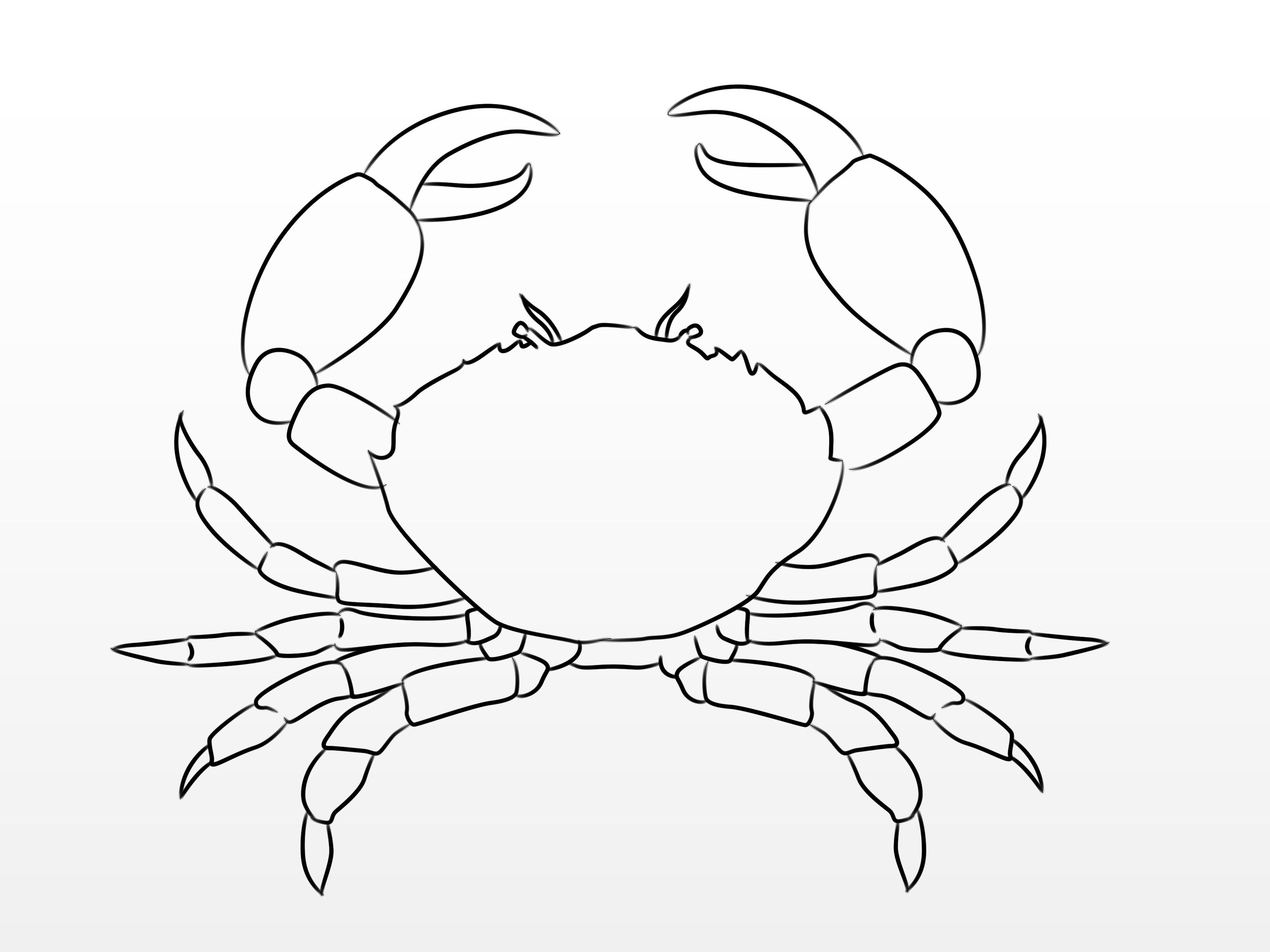 Draw A Crab