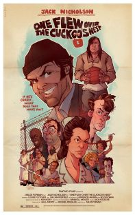 Resultado de imagem para one flew over the cuckoo's nest original poster