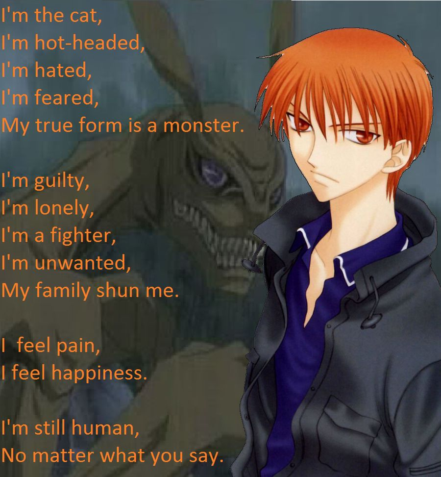 Fruits basket kyo Anime quotes Pinterest Fruits