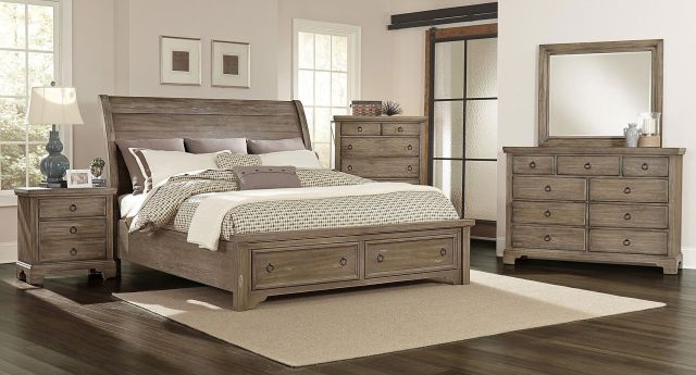 Art Van 6 piece Queen Bedroom Set