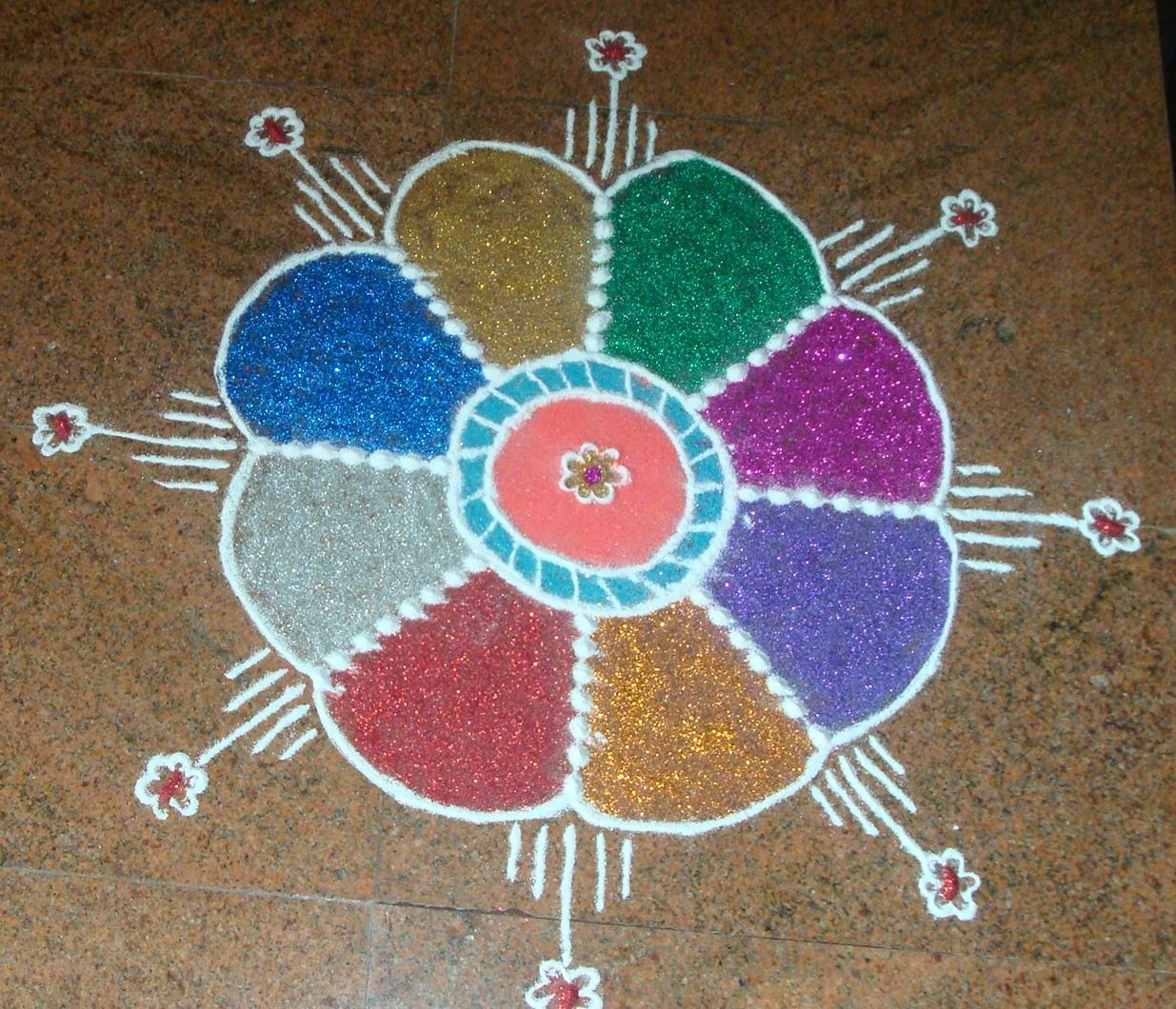 Rangoli Designs Most Easy Ones Simple rangoli and
