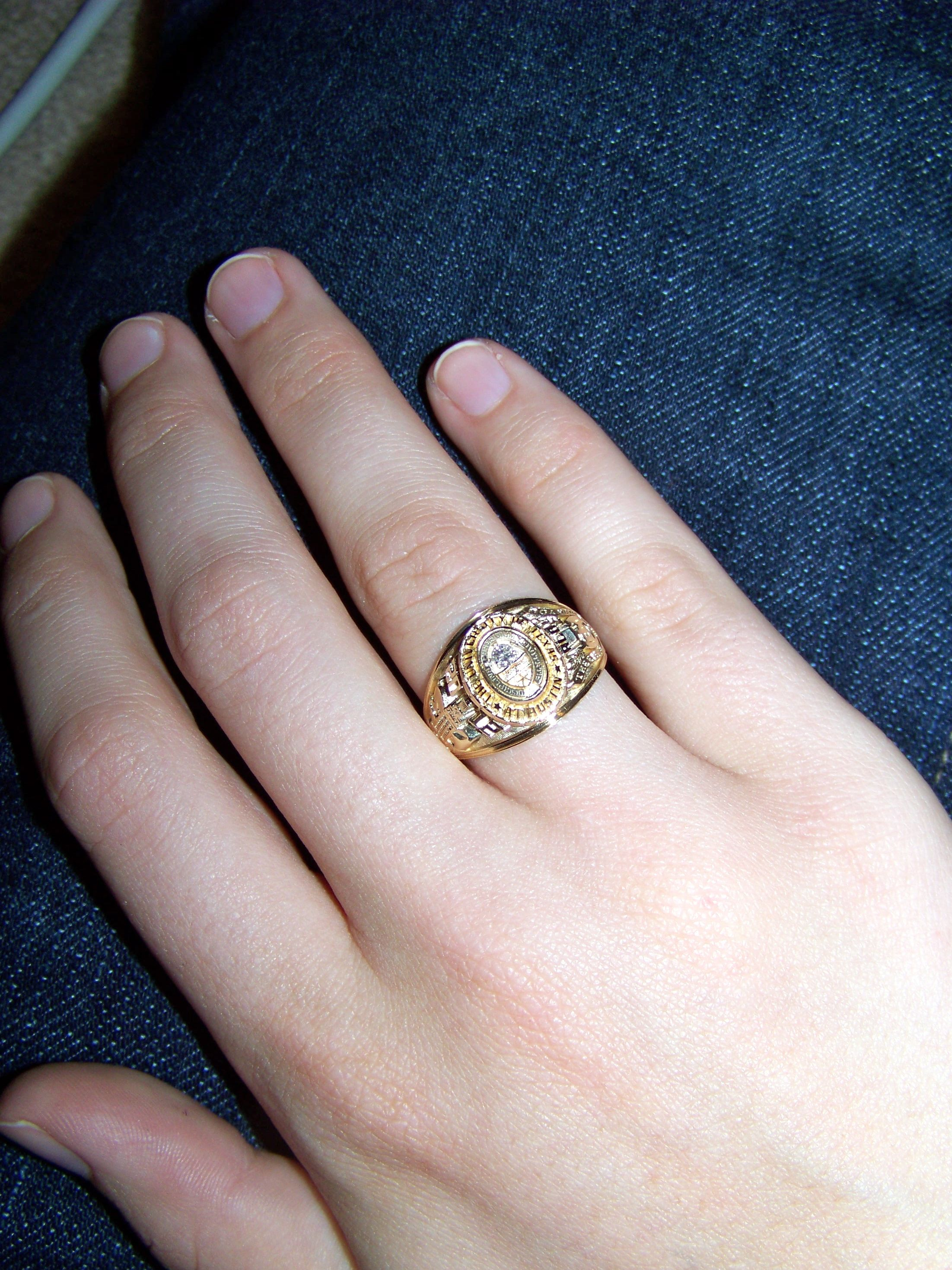 The University of Texas at Austin class ring bought mine