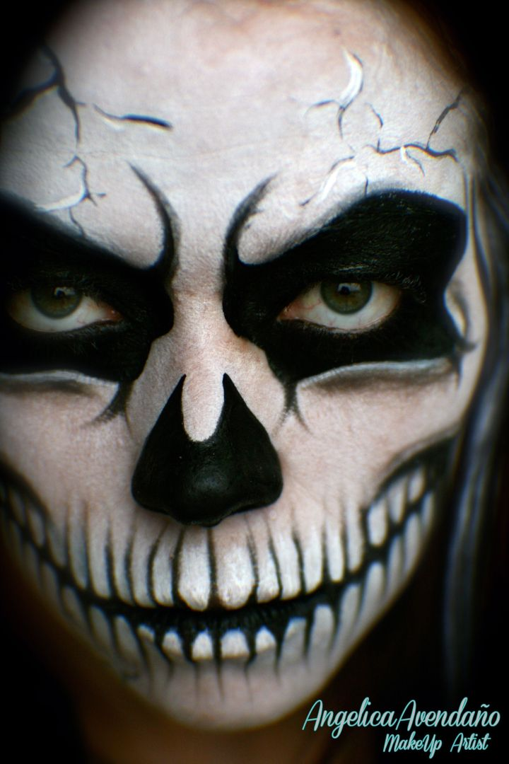 grim reaper makeup | The World Of Make Up