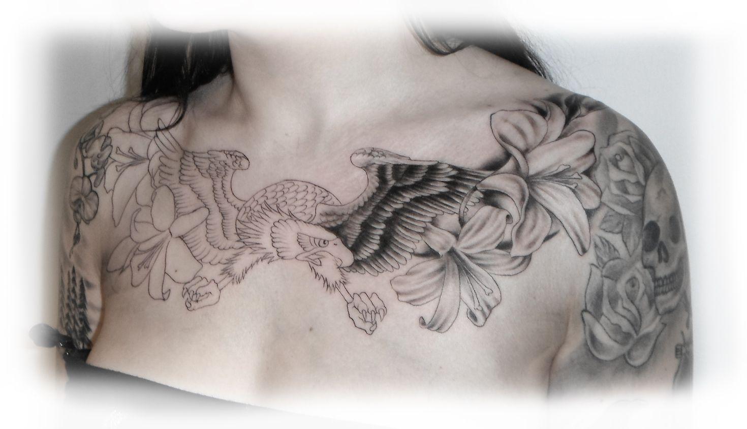 Small Chest Tattoos For Women Idag började jag på Malins