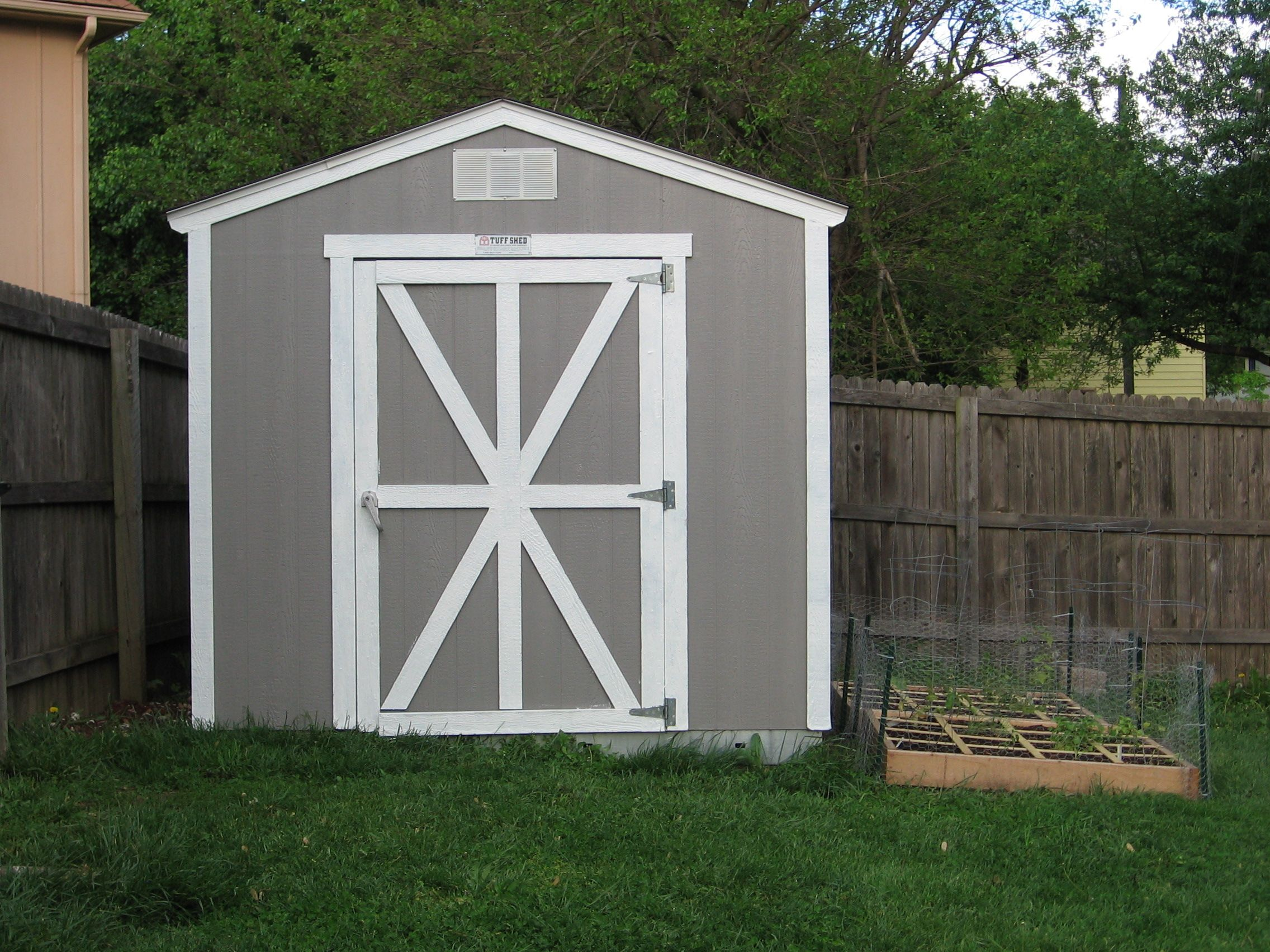 Nice Gray Wooden Small Shed
