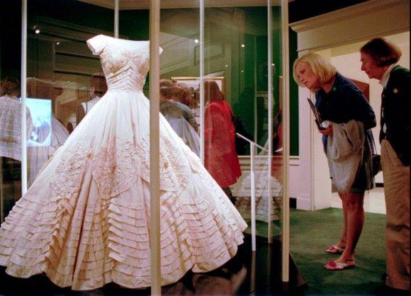 Jackie's Wedding Gown Worn At Her Wedding To Jack Kennedy
