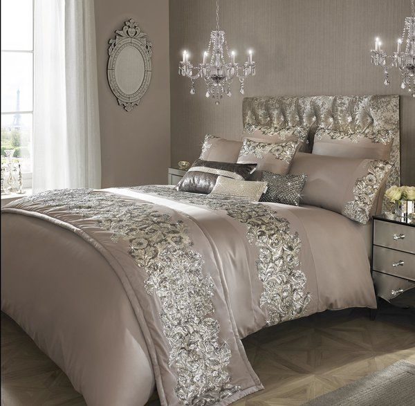 Introducing The Petra Bedding Collection From Kylie Minogue This Stunning Satin Bed Linen Will Bring Glamour To Any Room