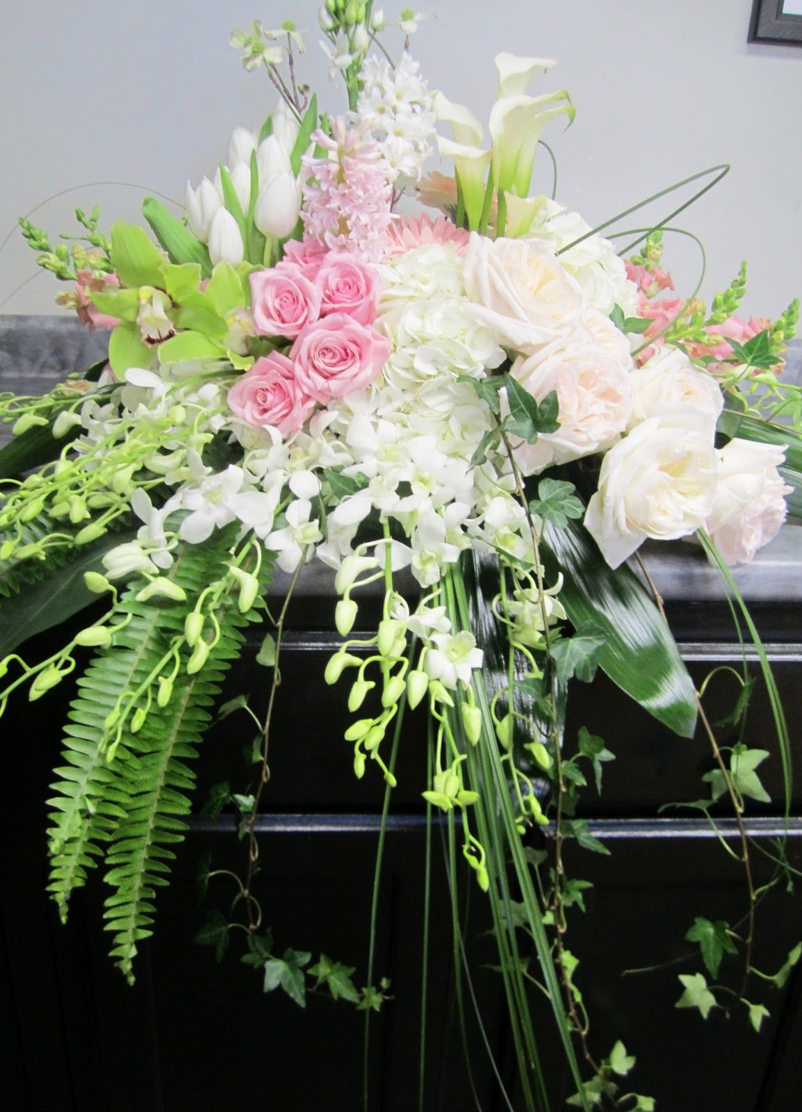 jeff french floral & event design Funeral Flowers