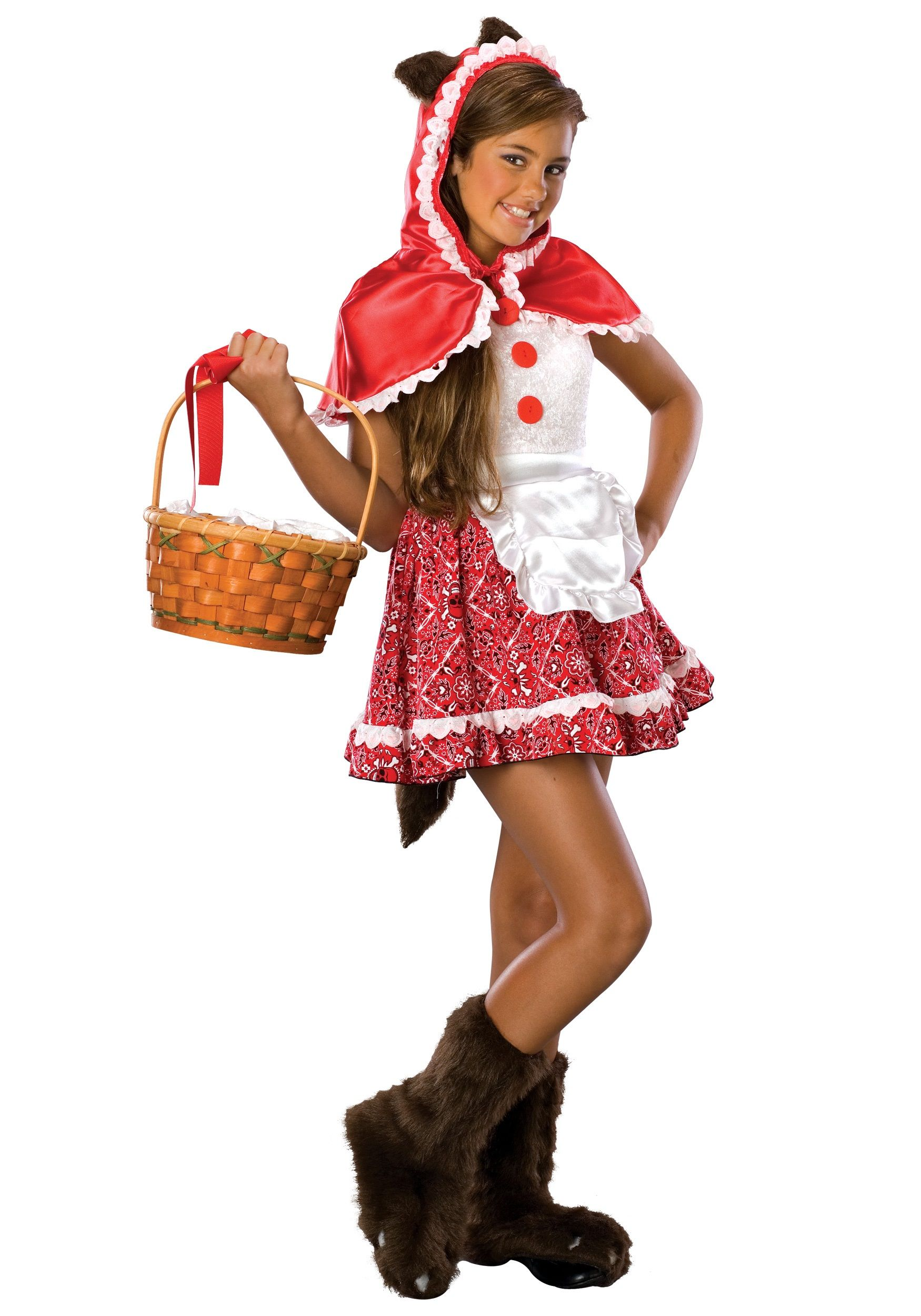 Tween Red Riding Hood Costume Red riding hood costume