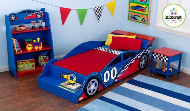 Kids Disney Cars Toddler Bedroom Furniture Set Race Car. Children S Car Themed Bedroom Furniture   Bedroom Style Ideas