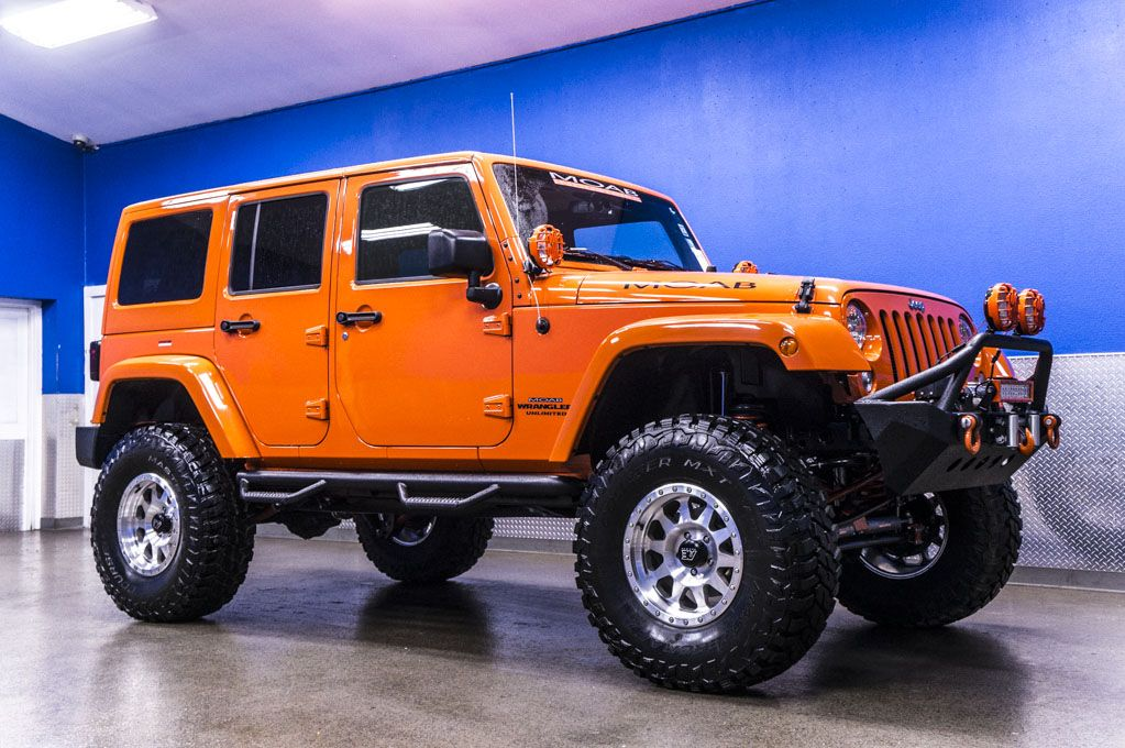 2015 Jeep Wrangler Unlimited MOAB Off Road Edition 4x4