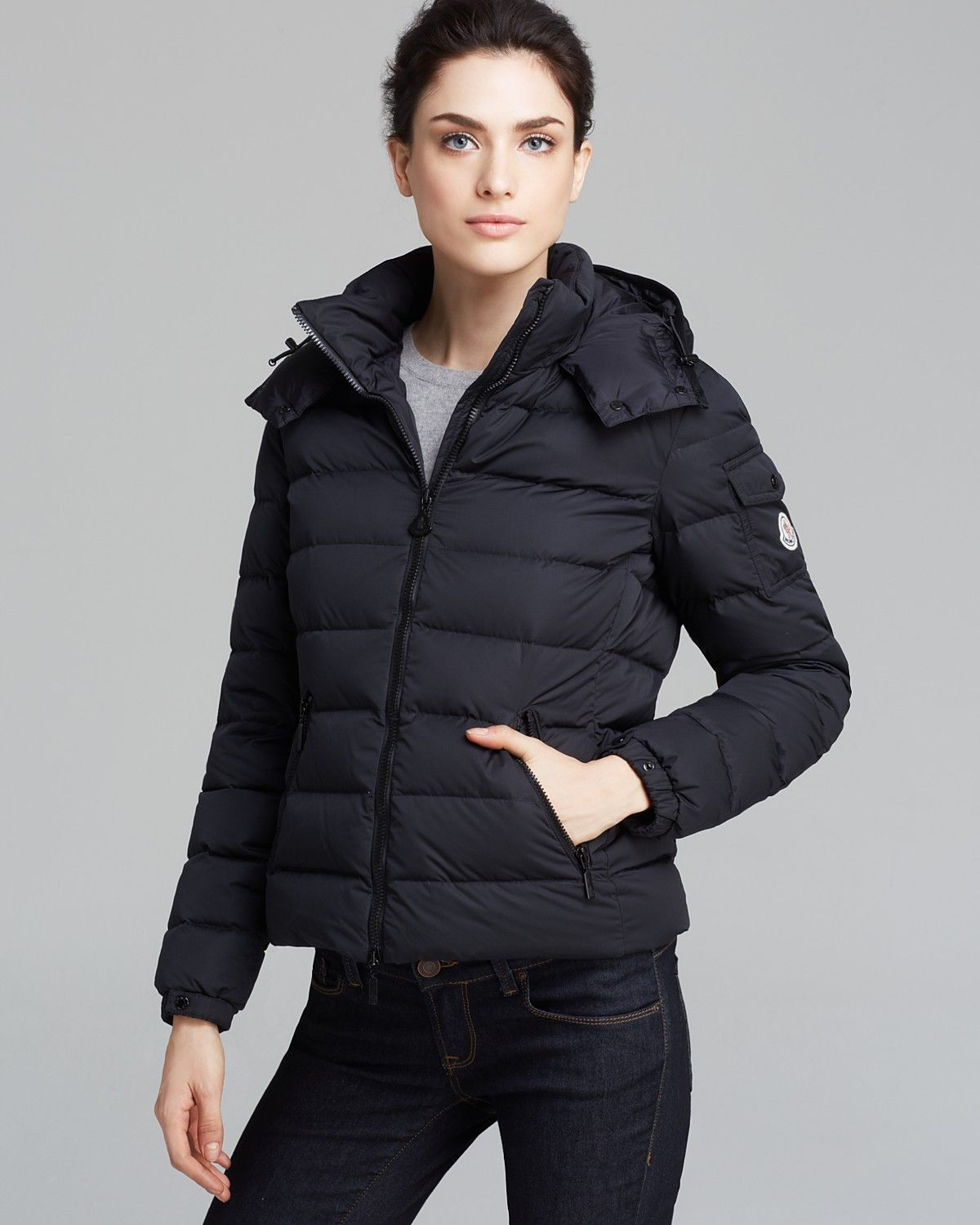 Moncler Badymat Short Down Jacket Bloomingdale's