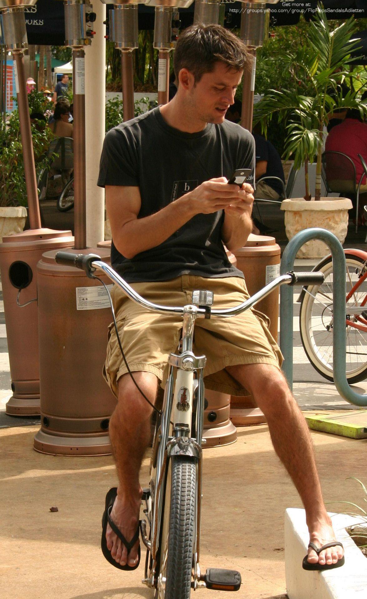 Walking bike Outfit (sandalsflip flop) FOR MEN Pinterest