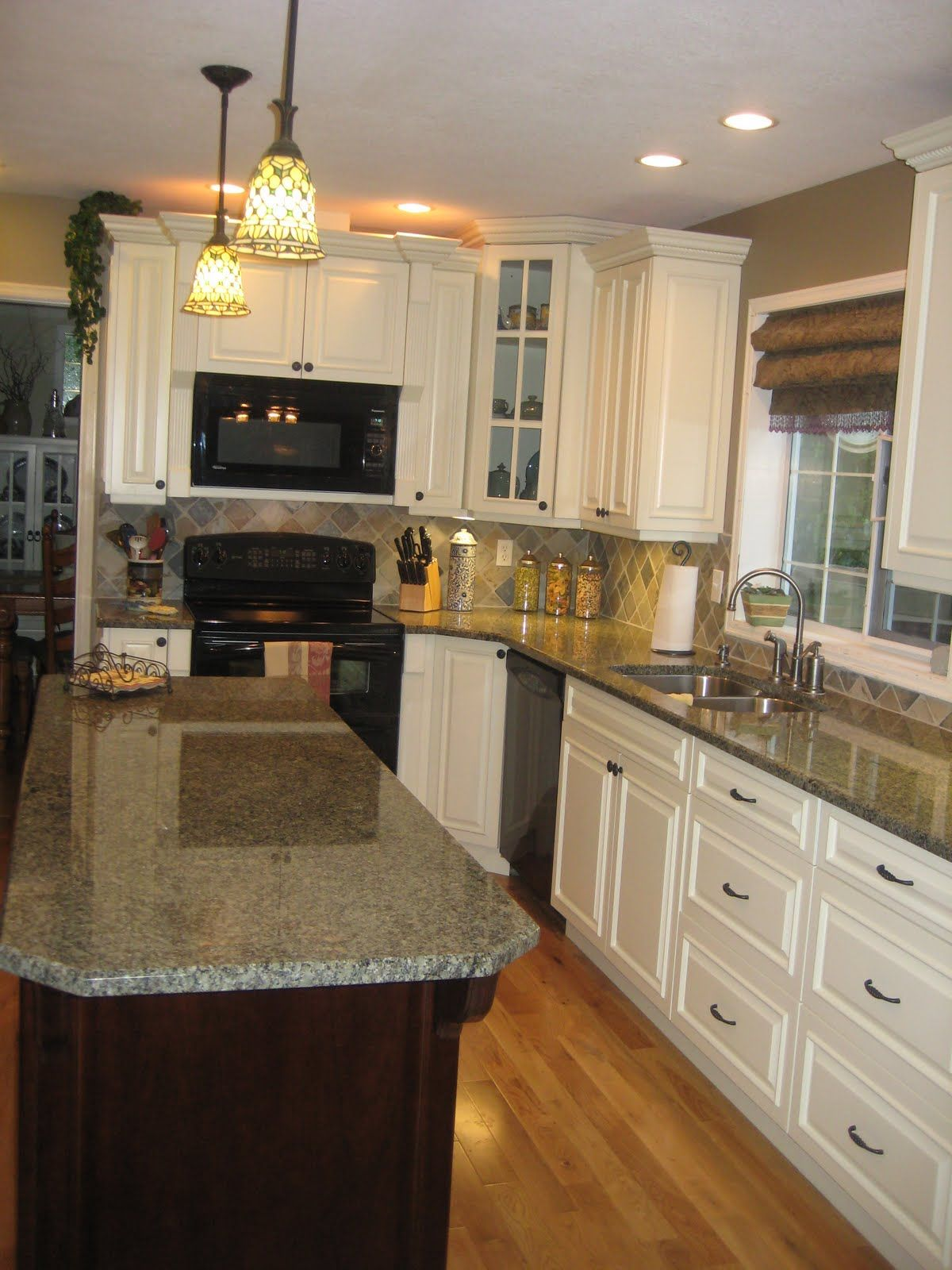 white with slate backsplash this is it! Except I