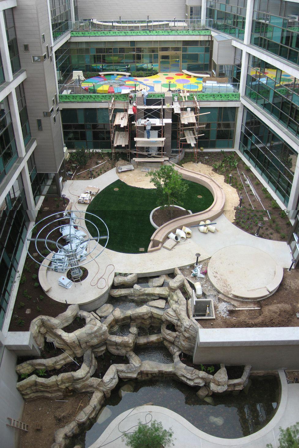 Visitors at the Dell Children's Medical Center grand