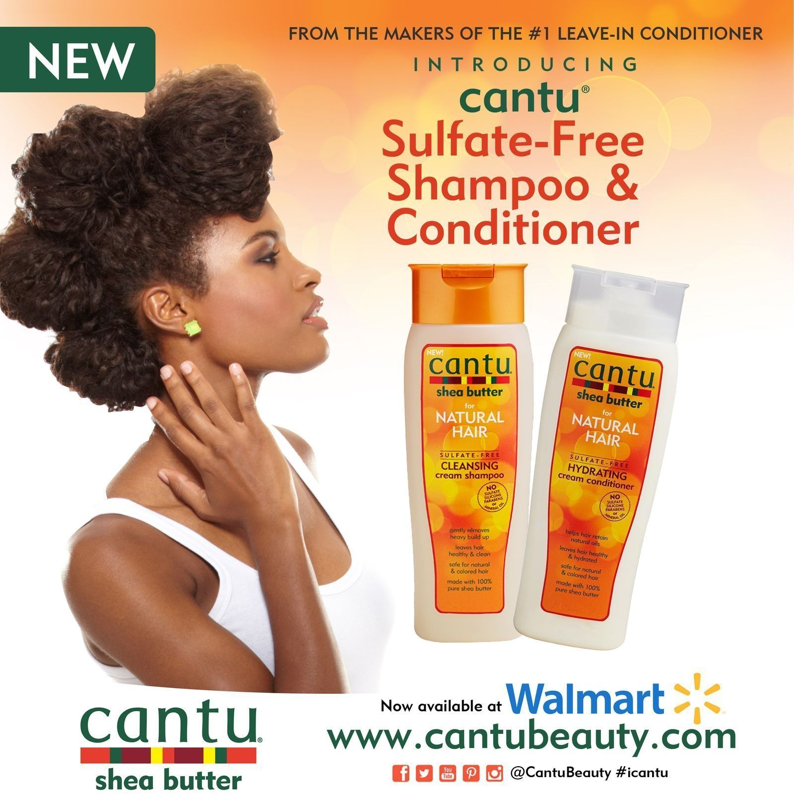 Great news! Our SulfateFree Shampoo & Conditioner will be