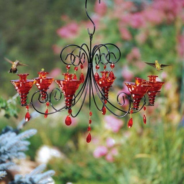 Chandelier Hummingbird Feeder
