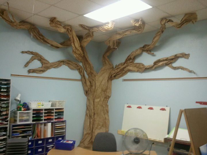 Image Result For How To Make A Paper Tree For Classroom