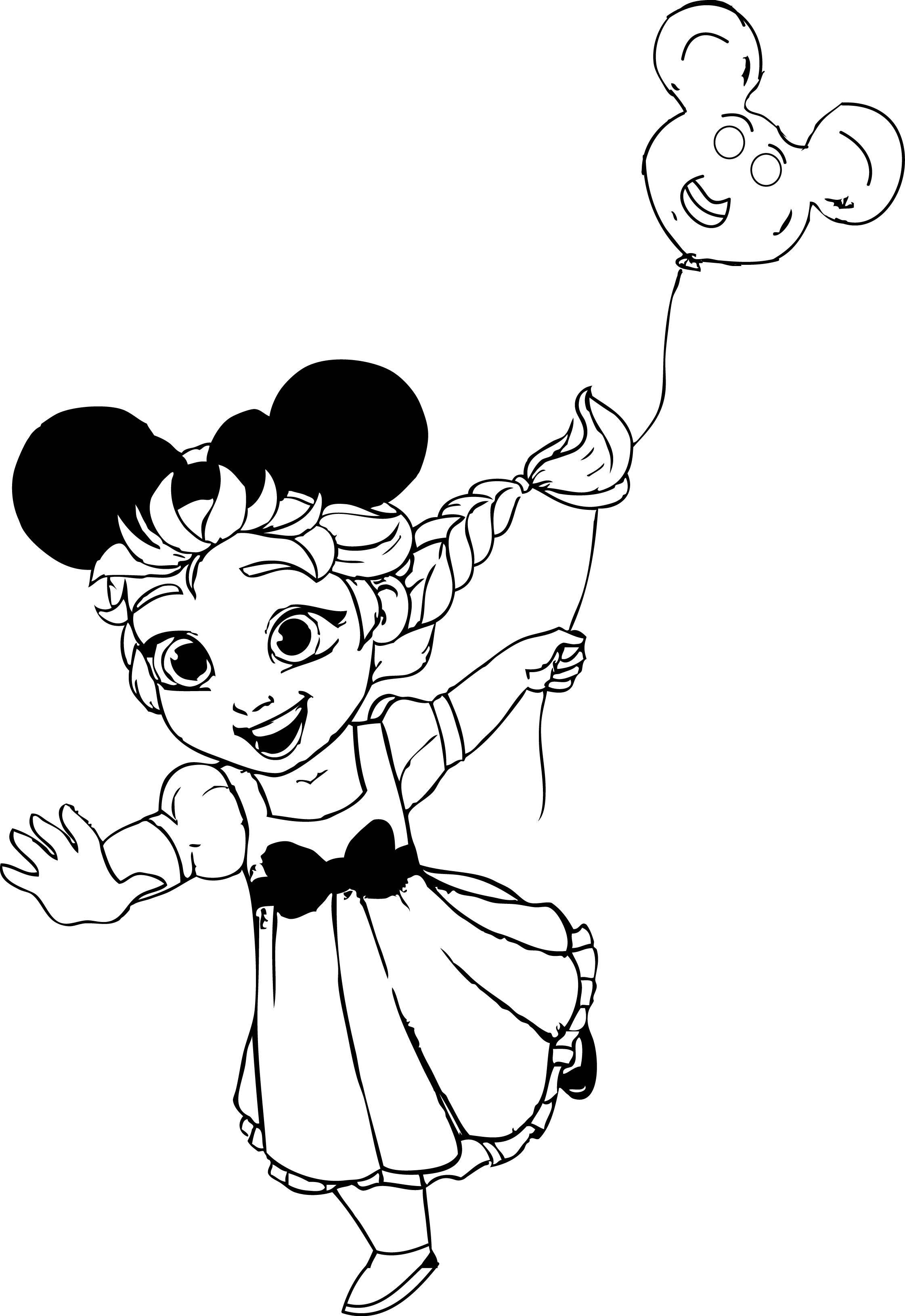 Elsa_At_Disneyland_Coloring_Page wecoloringpage
