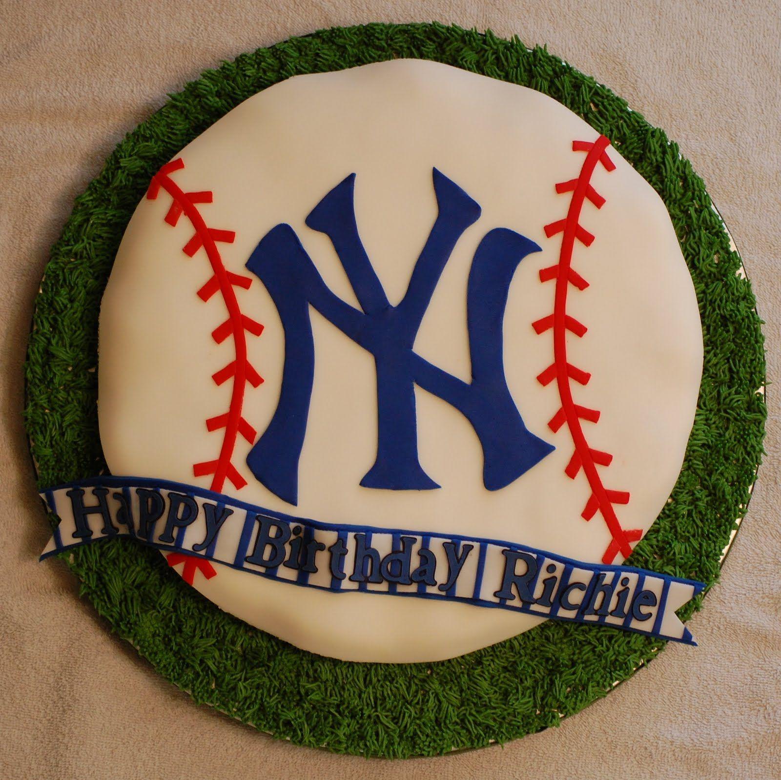 Cakefilley New York Yankees Cupcake Cake
