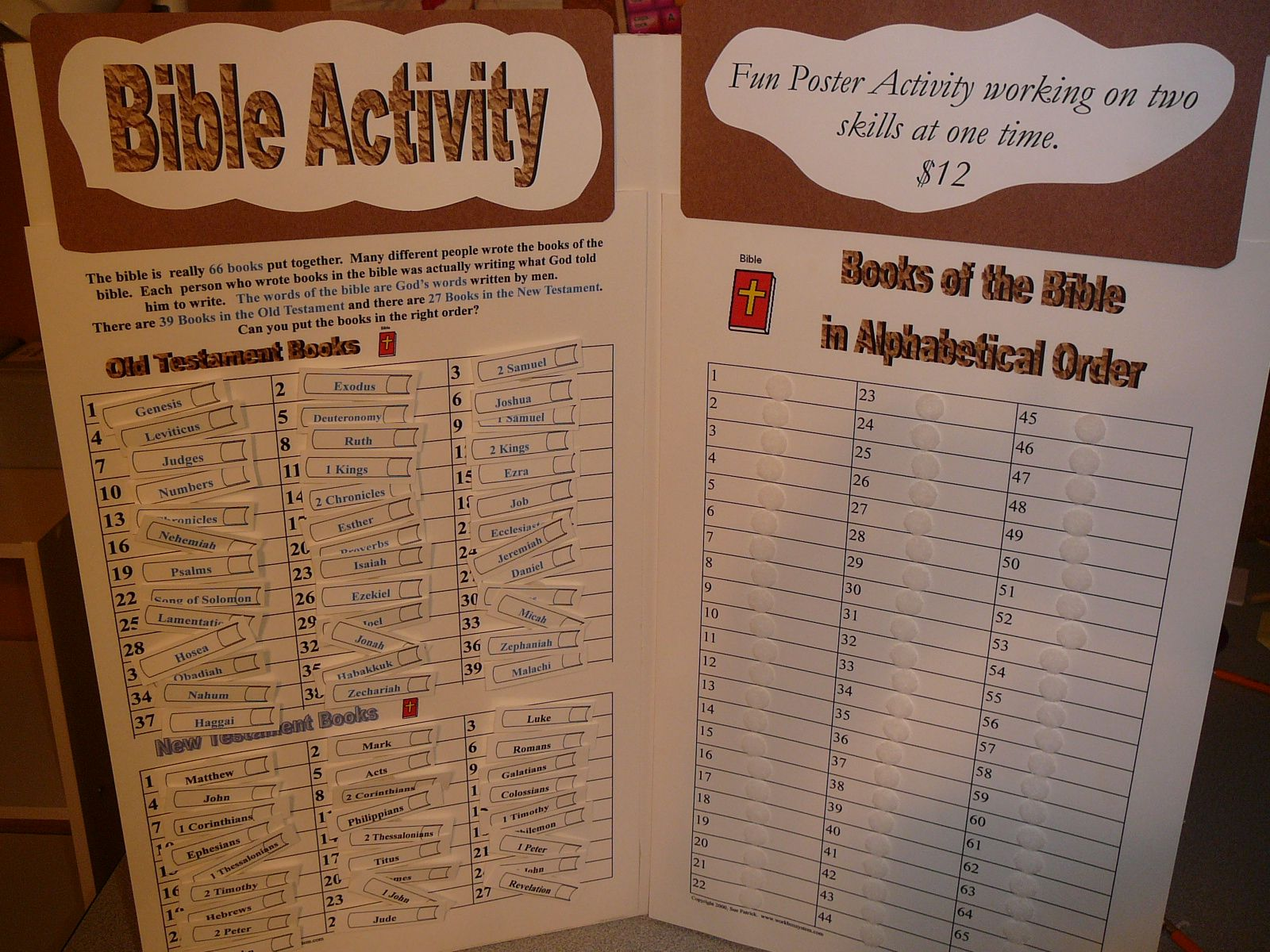 Great Idea For Kids To Learn Books Of The Bible