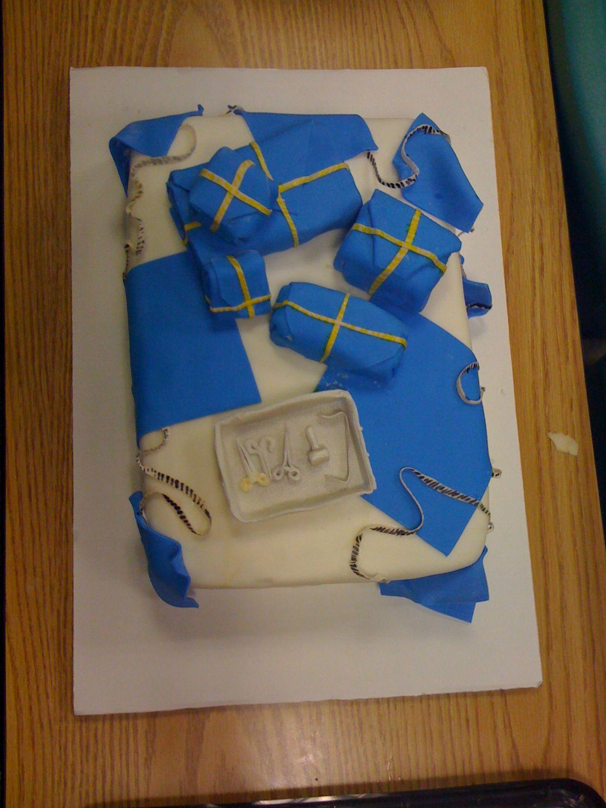 Cake for Sterile Processing week Lynnesanity Pinterest