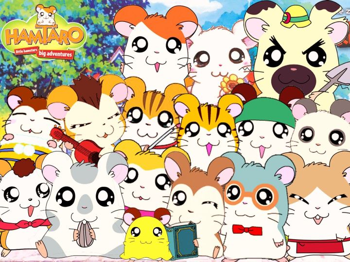 Image result for hamtaro characters