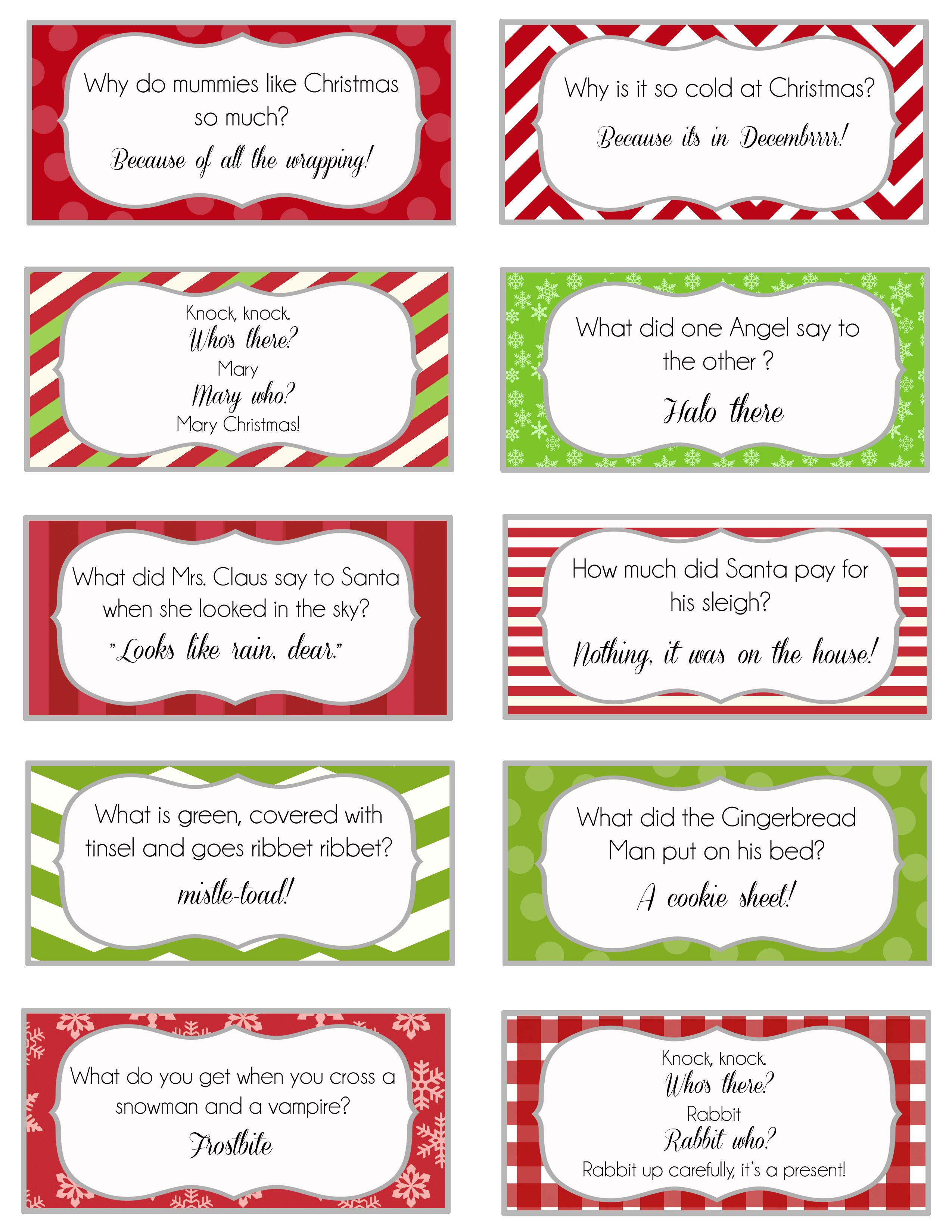Overthebigmoon Elf On The Shelf Printable Joke Cards Elfontheshelf Christmas Printable