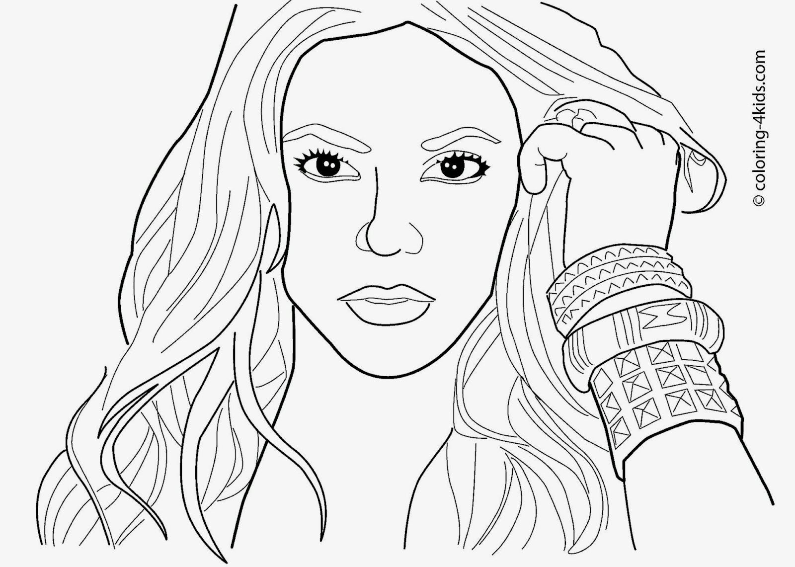 Celebrity Coloring Pages Free Coloring Pages Coloring