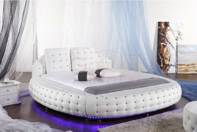 6821 Modern King Size Indian Bed Designs
