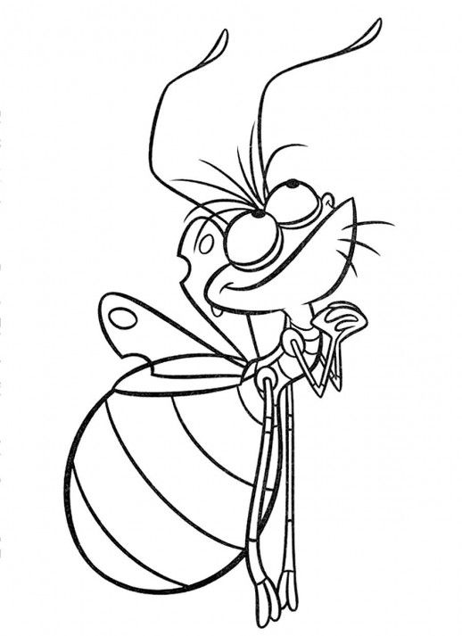 ray the firefly coloring pageuse glowinthedark paint