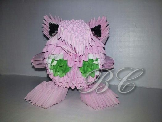 Jigglypuff Origami Step By Origami Tutorial Lets Make It