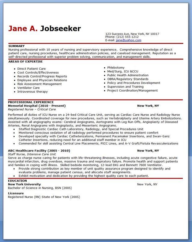 Lpn Nursing Resume Examples. Example Student Nurse Resume Free