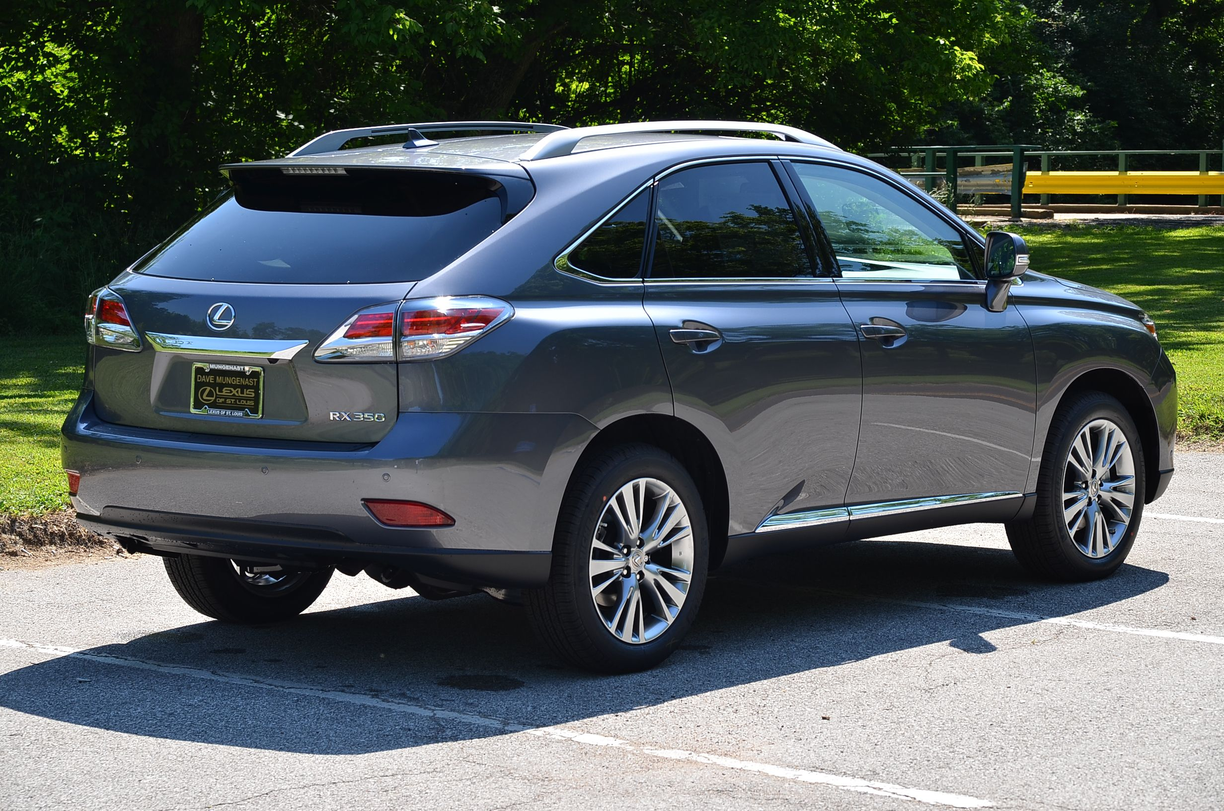 Take a look at this STUNNING new 2013 Lexus RX 350 in new Nebula