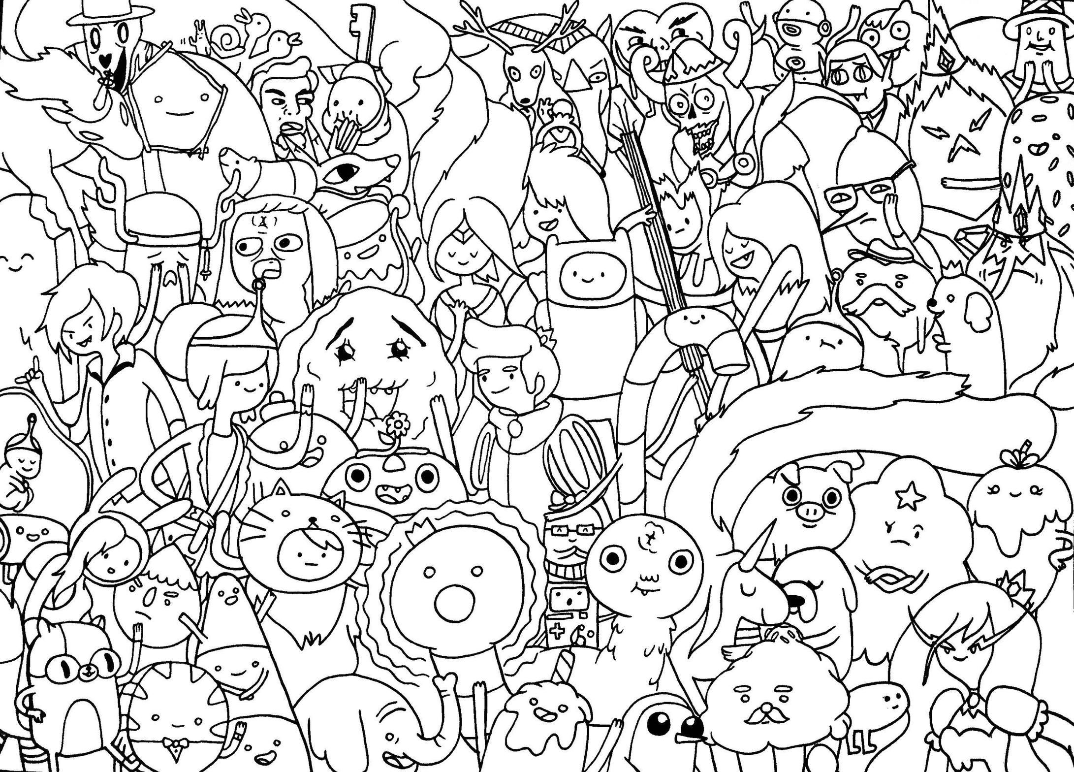 1000 ideas about adventure time coloring pages on pinterest